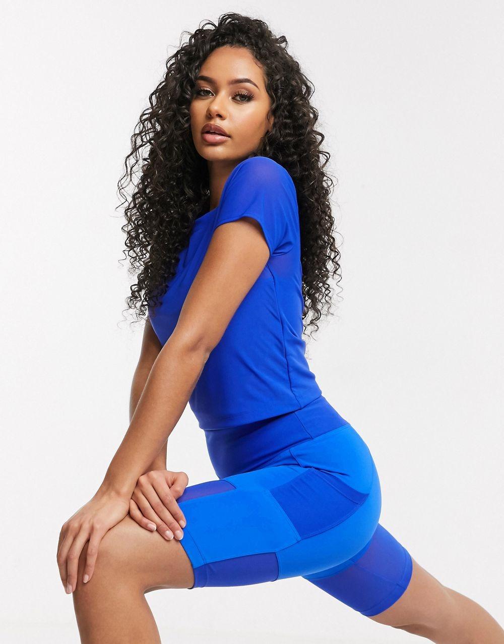 Frauen Sporthose Blau